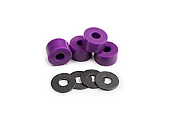 Bushings for longboard and skateboard trucks
