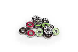 Longboard and skateboard bearings