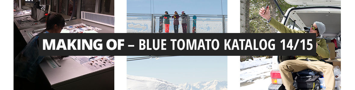 Blue Tomato Catalogue Making of