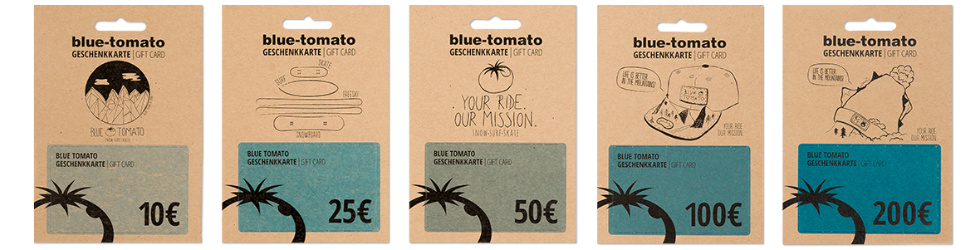 Vouchers In The Blue Tomato Online Shop Blue Tomato
