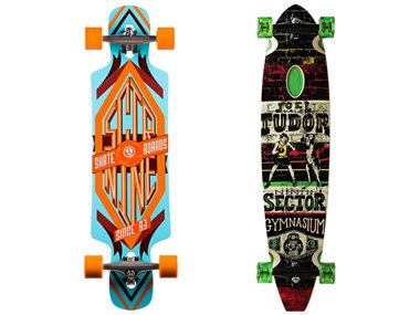 Sector 9 Longboards Freeride und Cruiser