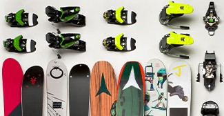 Skis + Bindings Mounting