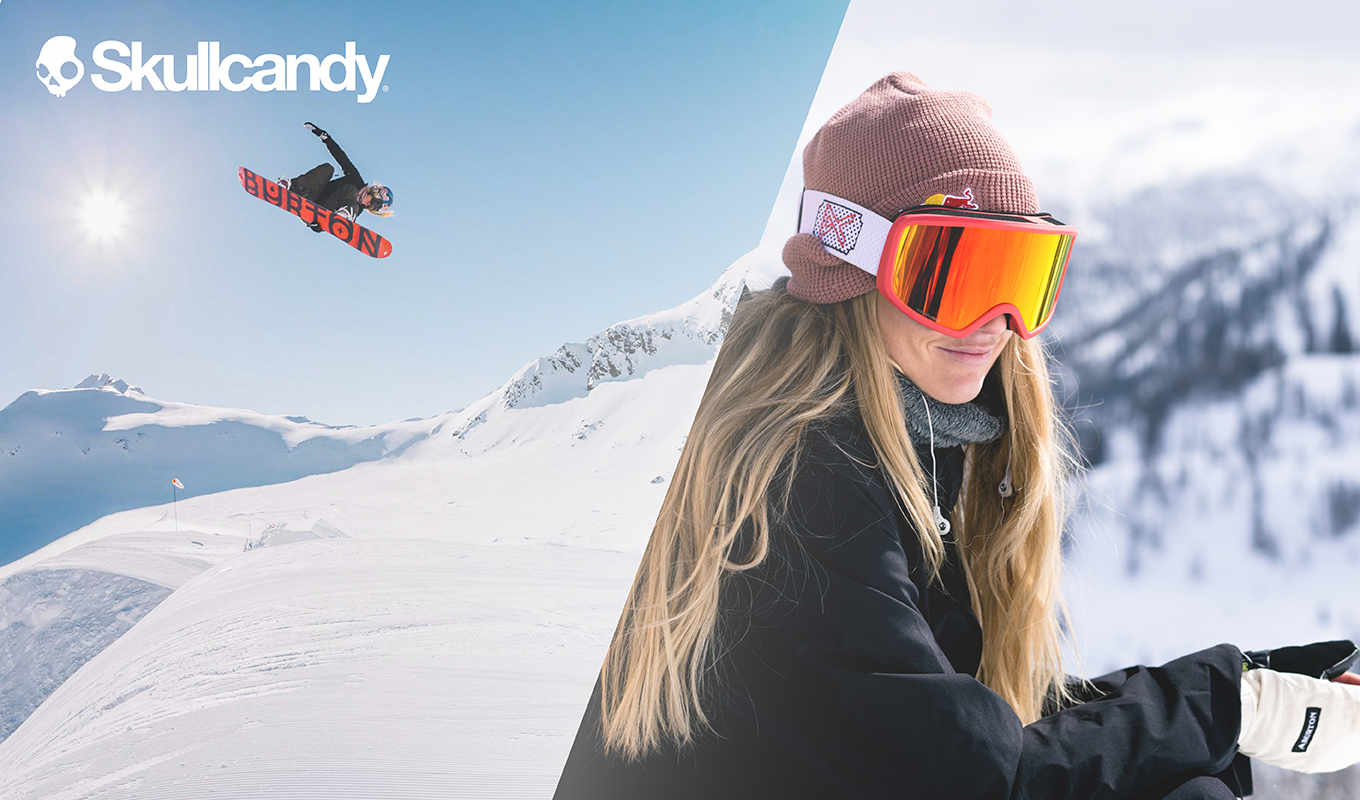 Win a trip with Anna Gasser and Skullcandy!