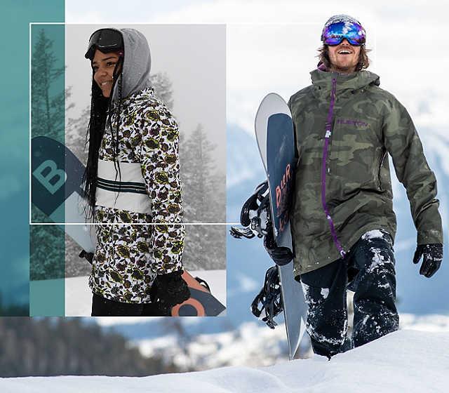 Snowboard jackor online shop på Herrar | Blue Tomato