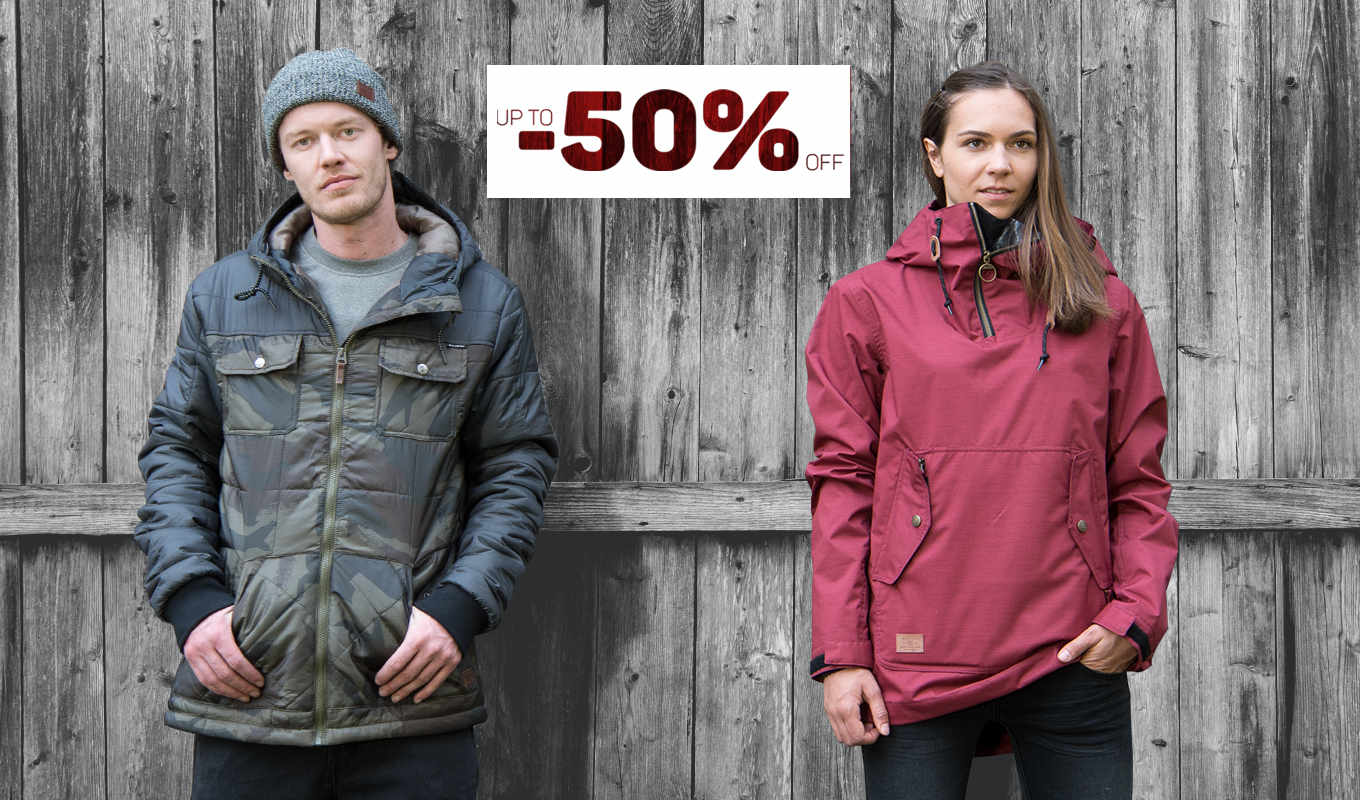 Jacket Sale: up to -50%