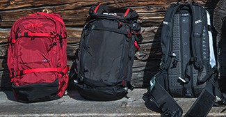 Touring backpacks