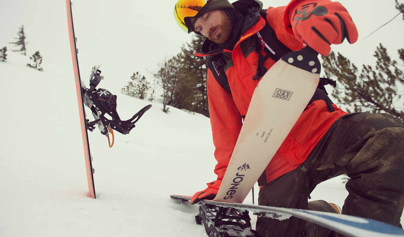 All about Snowboard Touring