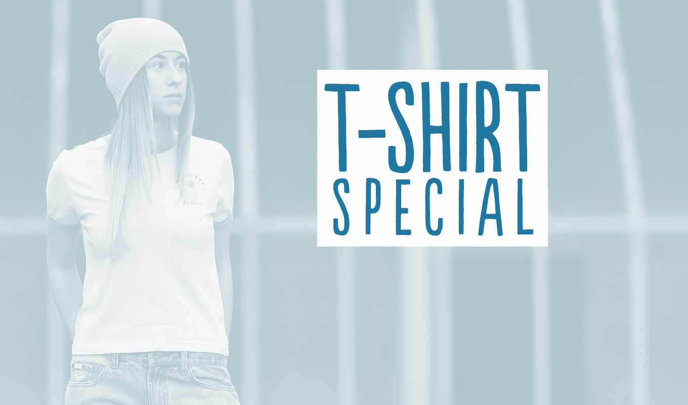Special: 3 T-Shirts = 60 EUR