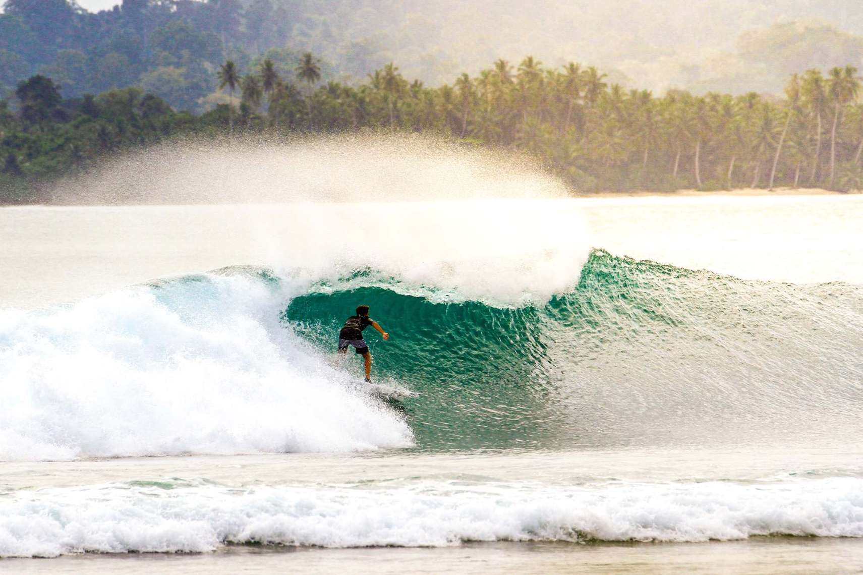 or the Mentawai Islands in Indonesia