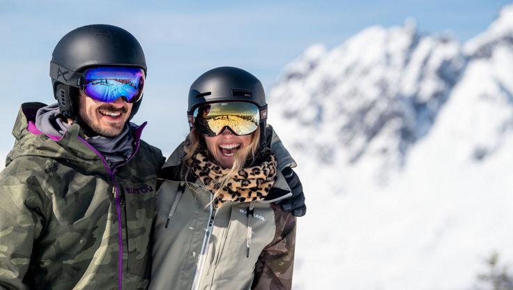 Anon Brille und Helm passen perfekt zusammen