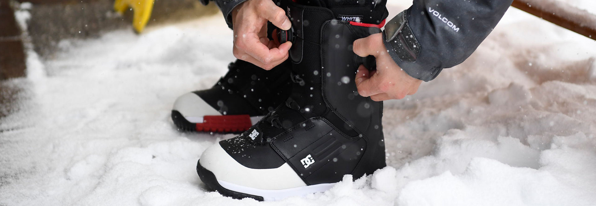 The DC Control snowboard boot with the dual zone BOA®system