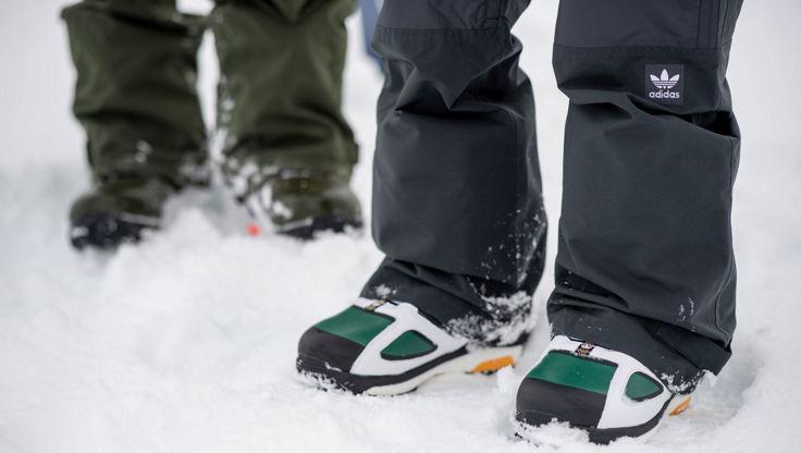 adidas Snowboardboots mit gepolsterten Sohlen