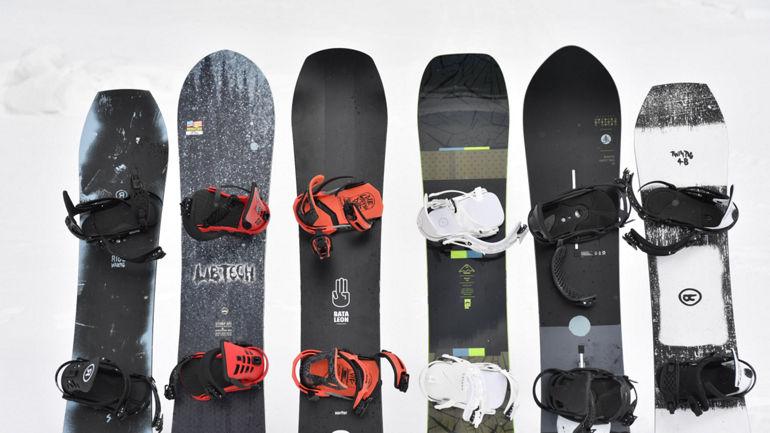Snowboards from Ride, Lib Tech, Bataleon, Rome and Burton