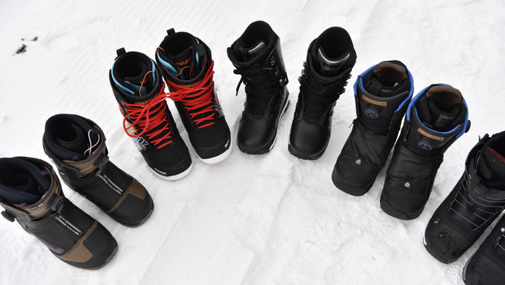 Snowboard boots from Thirtytwo, DC, adidas and Burton