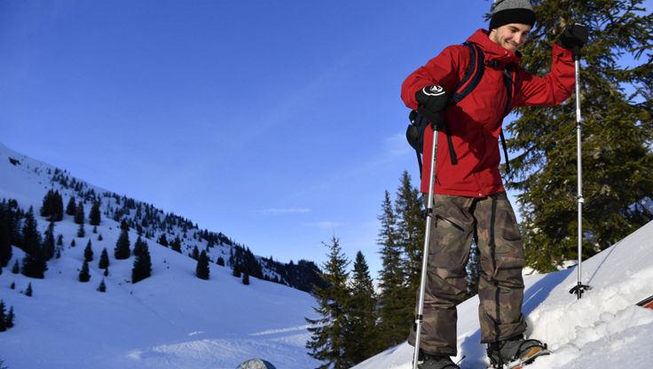 Splitboarding in atmungsaktiver Snowwear