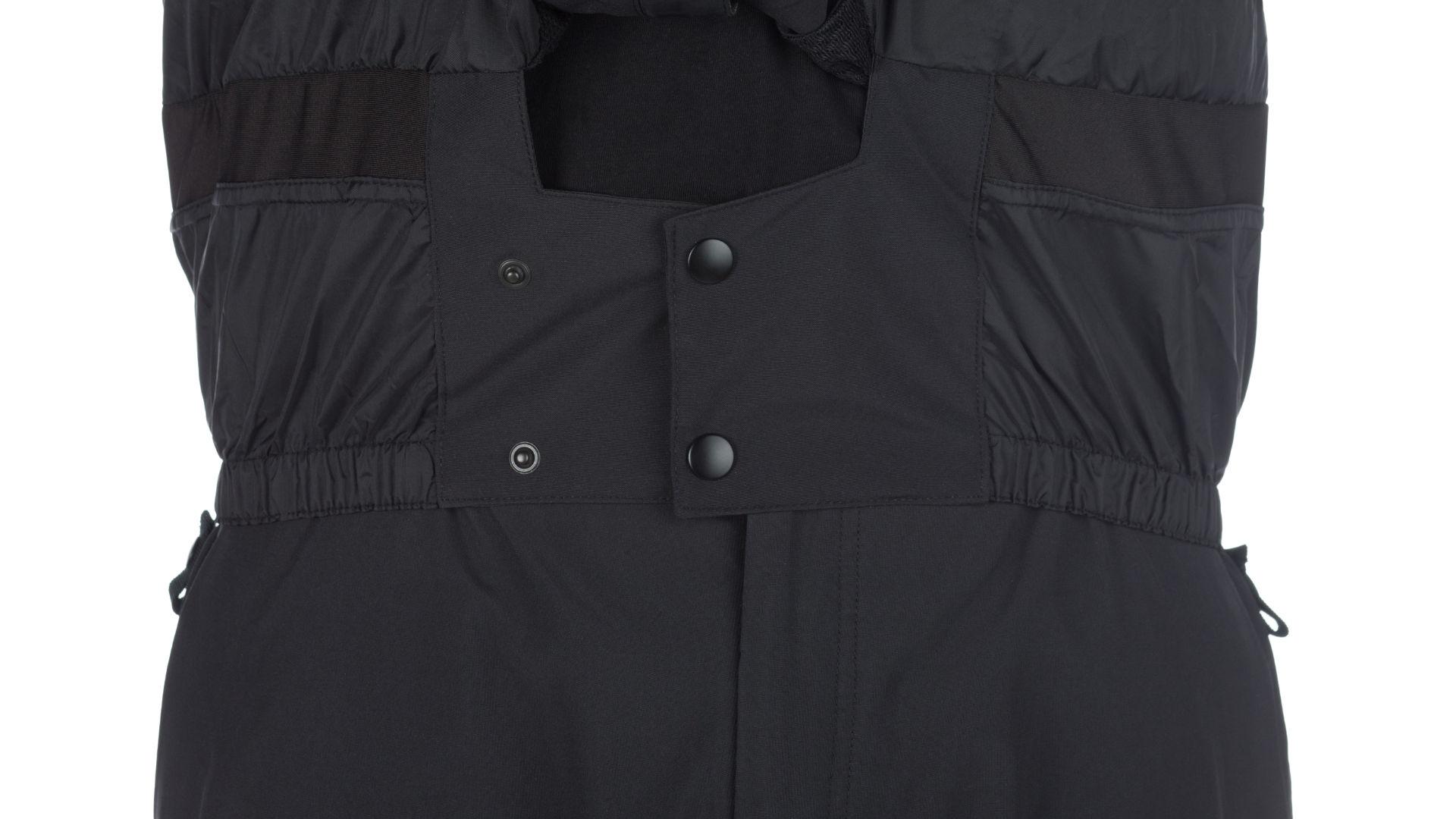 A snowskirt of a 686 jacket