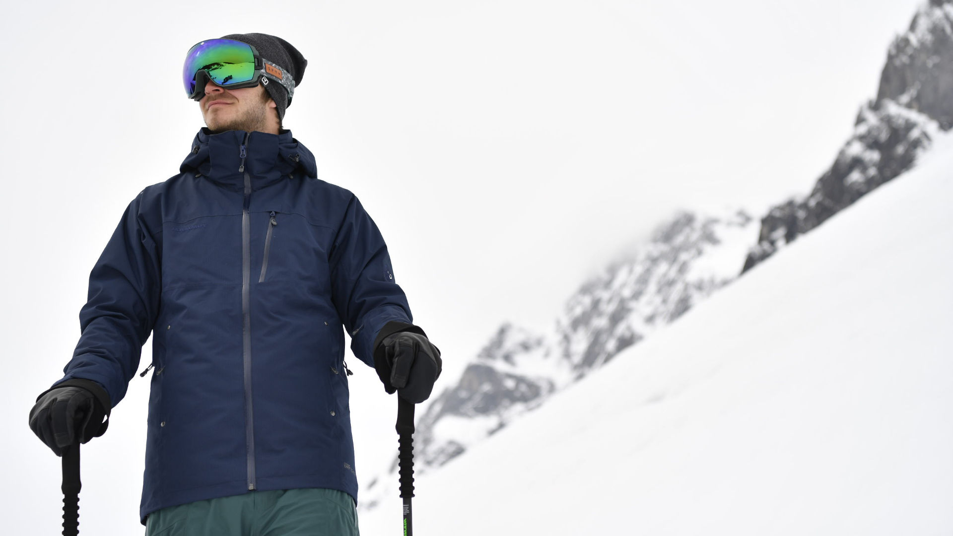 A slim fit jacket from Mammut