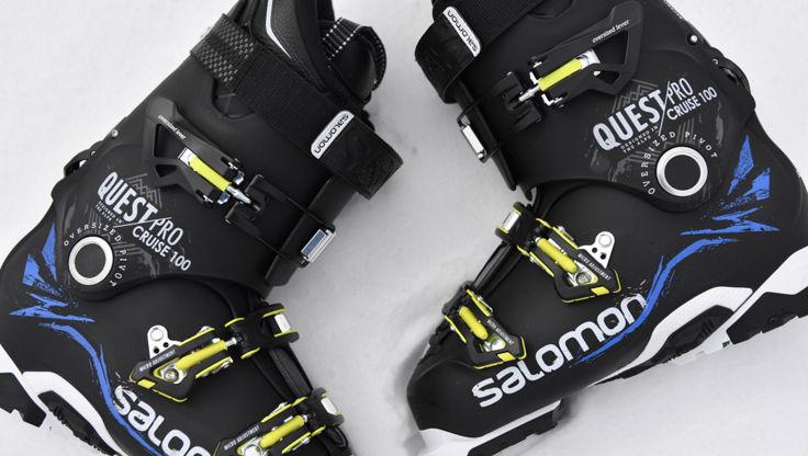 Salomon Quest Pro medium last ski boot