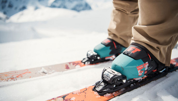 Full Tilt ski boots with a narrower fit