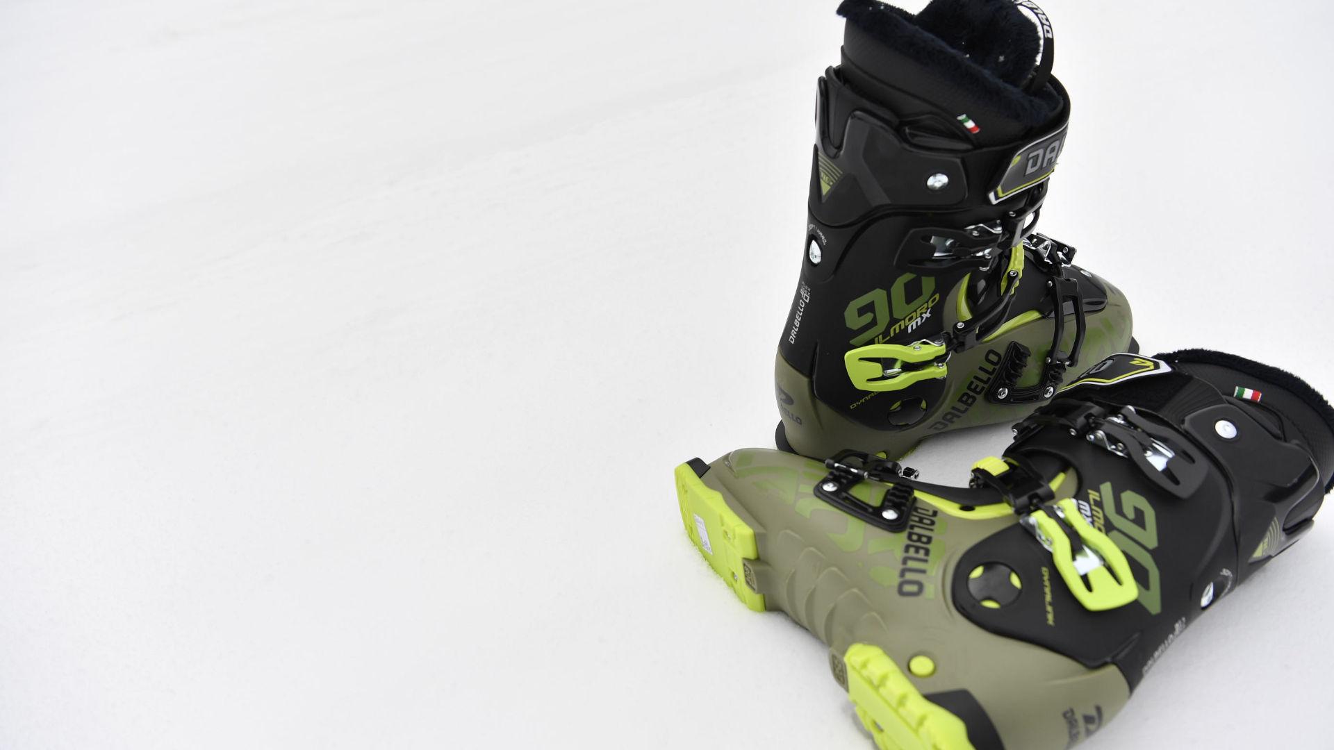 A wide ski boot from Dalbello