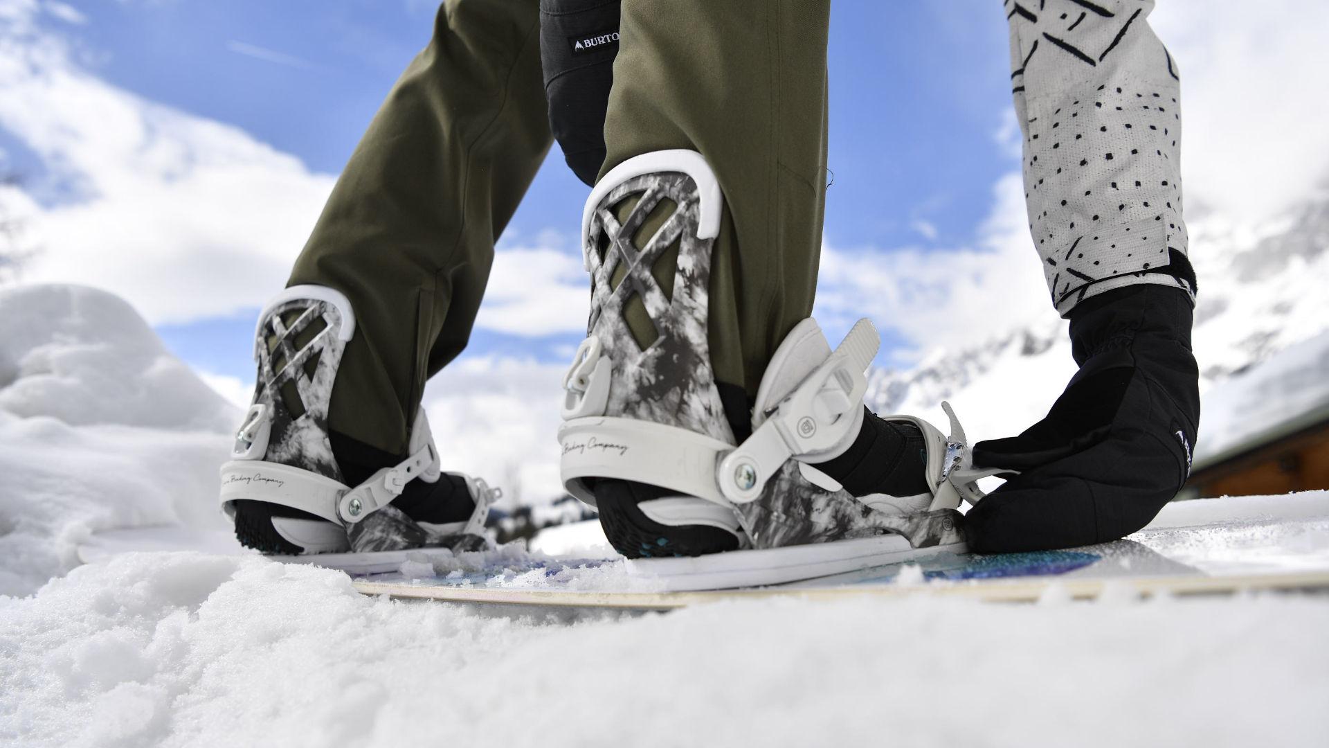 K2 Snowboard Bindung MERIDIAN 2019 silver Winter Snowboardbindung Schnee Neu Skisport & Snowboarding