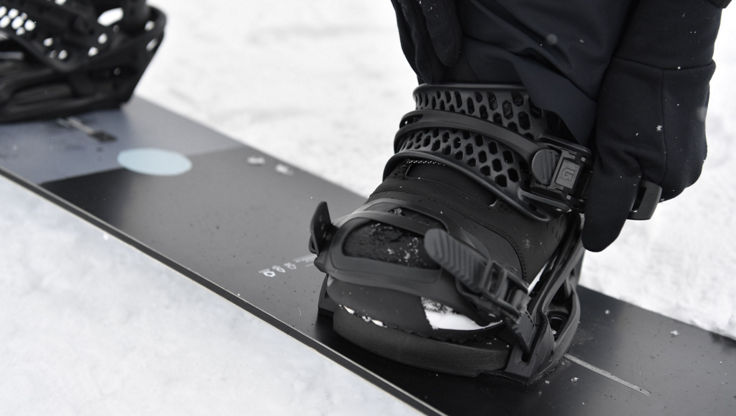Strapping in with Burton Bindings