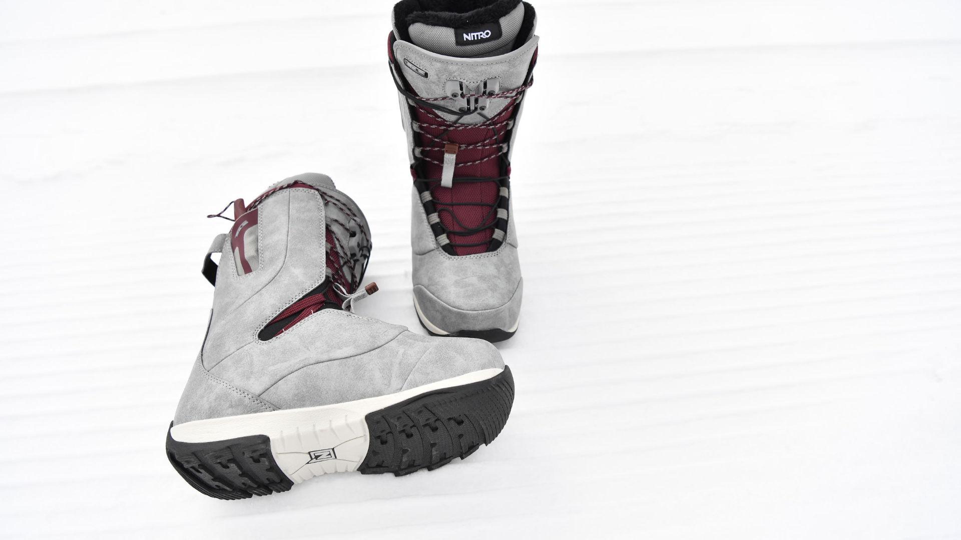 Nitro Crown TLS Snowboard Boots mit Speedlacing