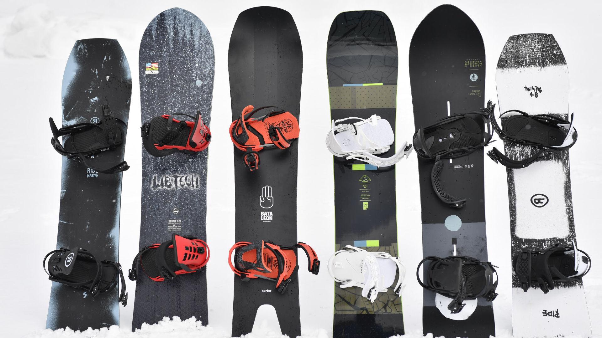 Snowboards von Ride, Lib Tech, Bataleon, Rome und Burton
