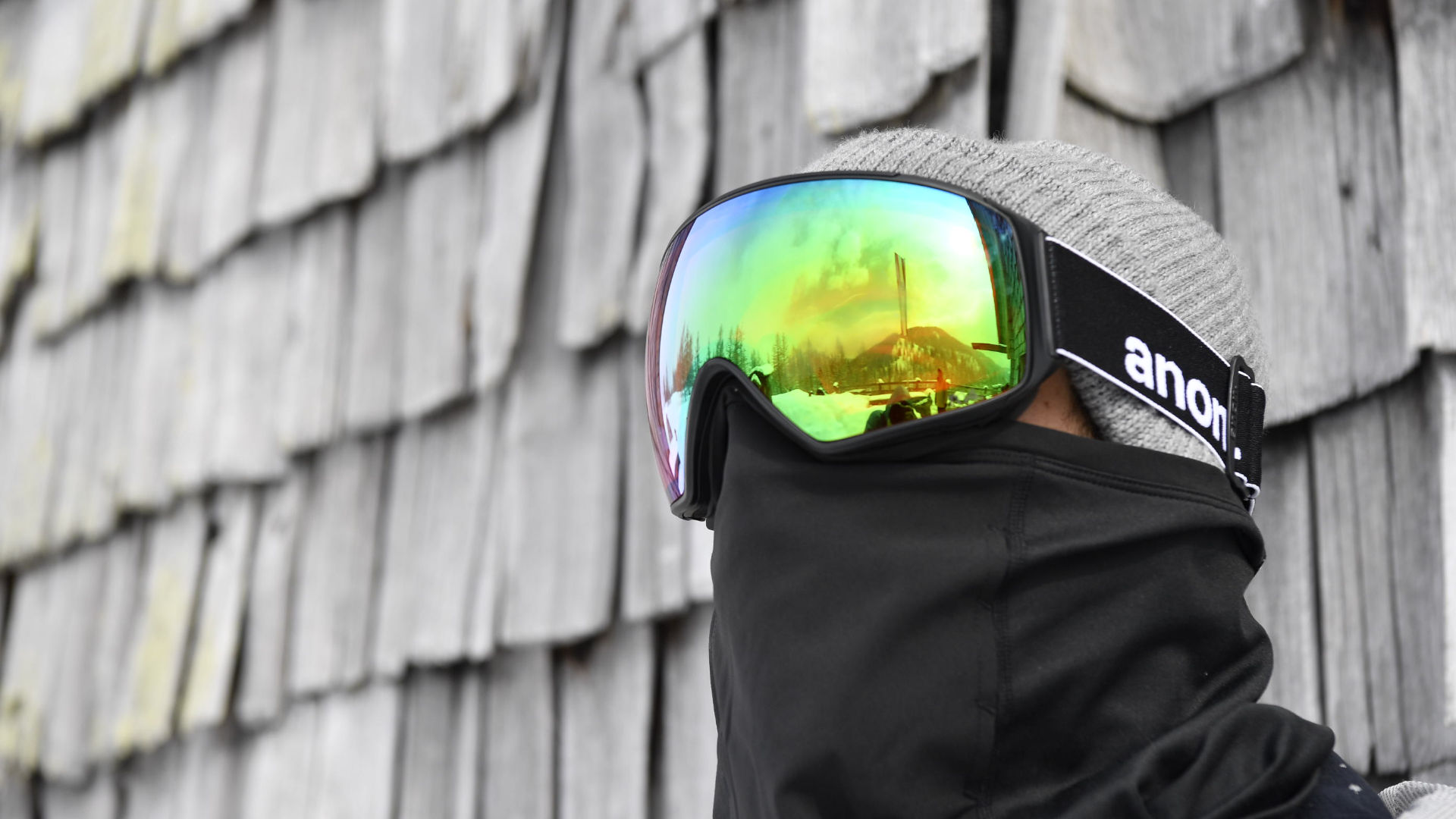 A frameless goggle by Anon