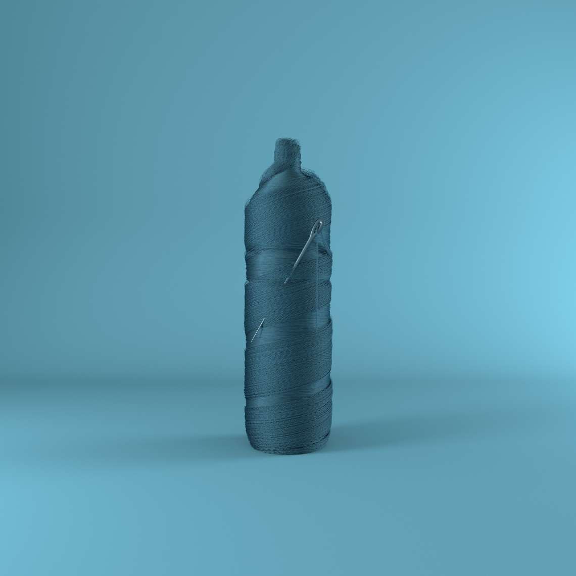 Polyester- recycling from PET bottles