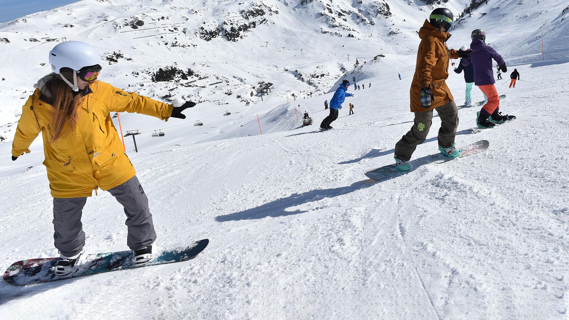 Snowboardkurse am Obertauern