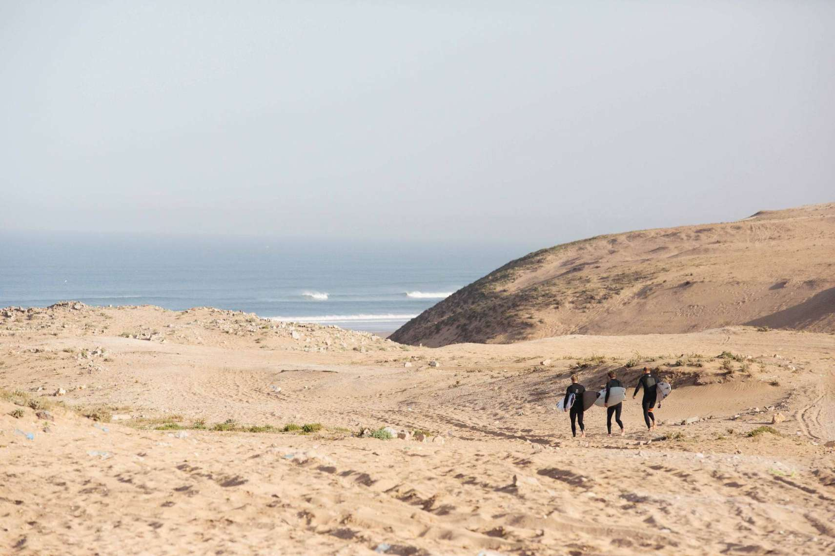 or to the surf spots in Morocco.