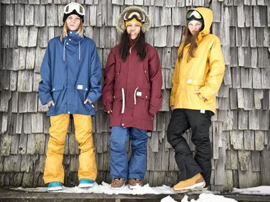 Snowwear for women by Vans