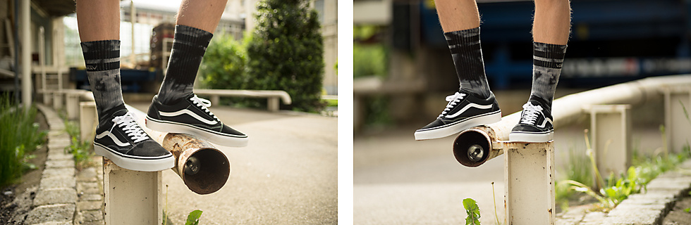 Vans Old Skool Sneakers & Vans Denbur Crew Socks